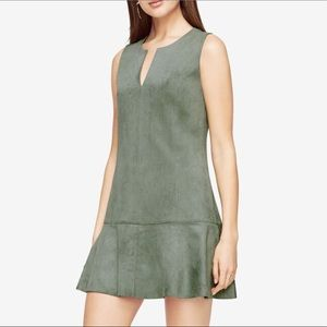 BCBG Adelene Faux-Suede Dress